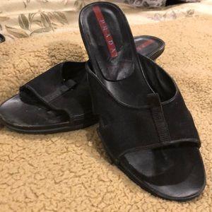 Authentic Prada sport sandals
